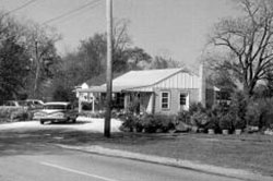 Street-view shot of flagg's garden center in burlington county